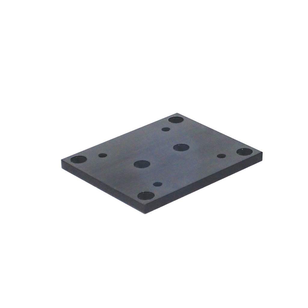 """The 5"""" x 6"""" Mounting Plate is a precision machined aluminum mounting plate that accepts all Big Jon planer mast bases and Big Jon Multi-Set rod holder tree bases."""