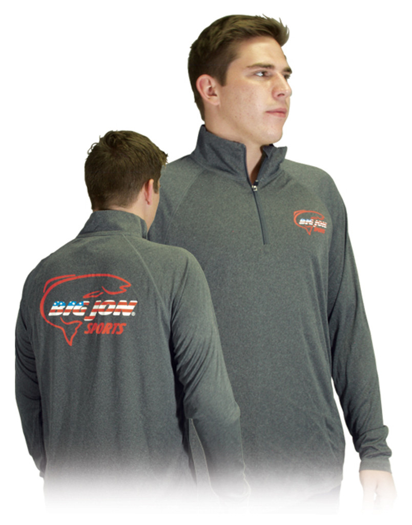 Gray Long Sleeve 1/4 Zip