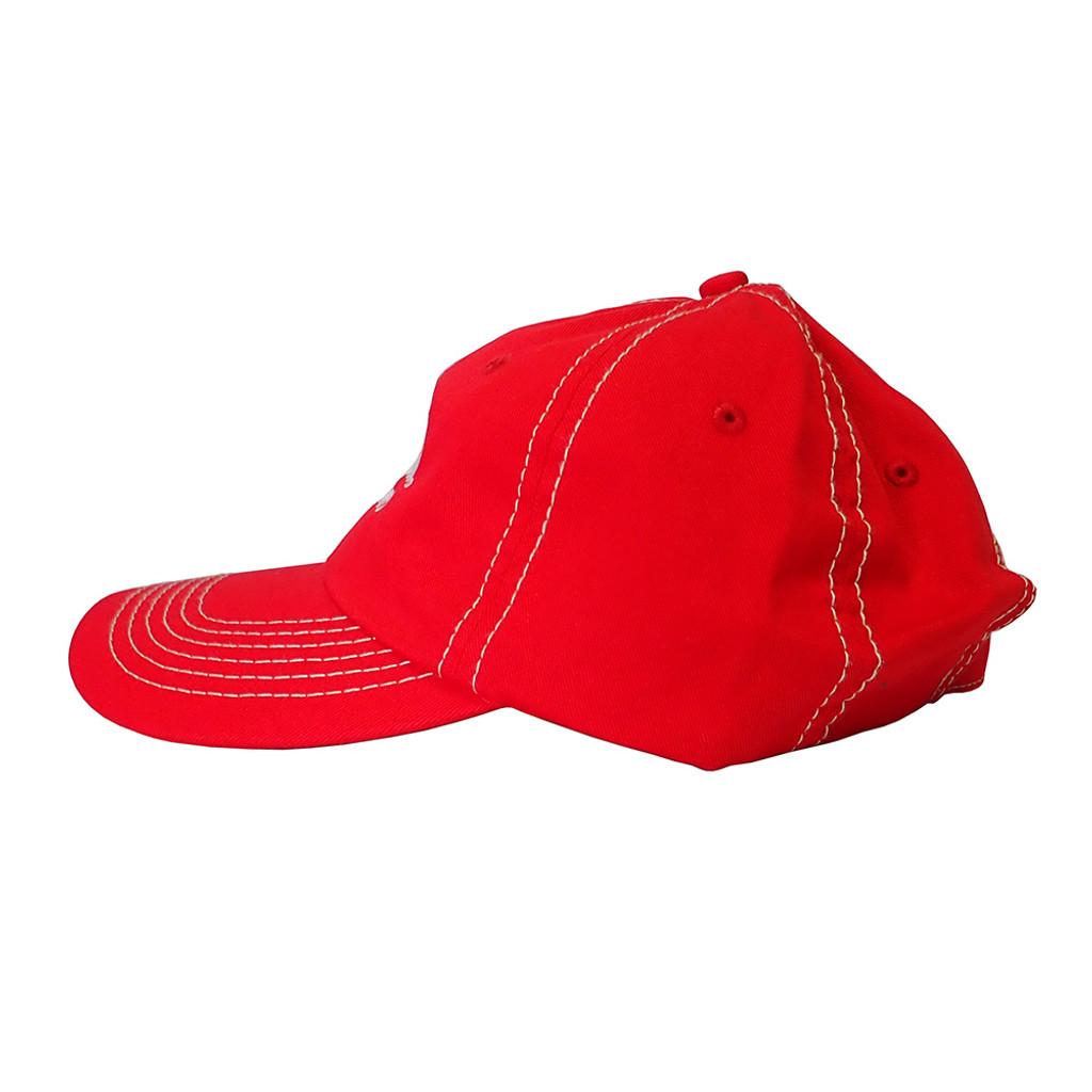Red Twill Hat