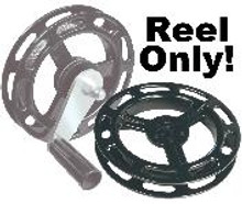 8 in. Xenoy® Reel that fits Captain's Pak Manual Siderigger (One-Hand-Crank). Handle and Crank not included!