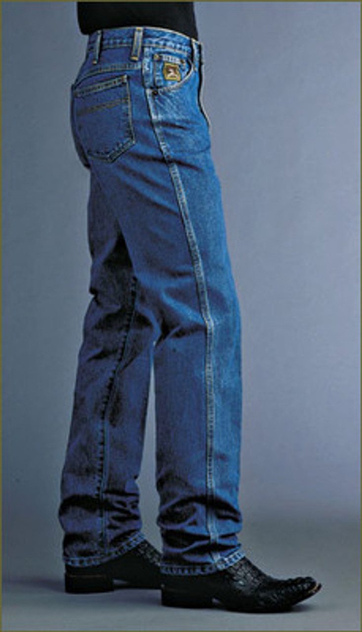 Cinch Apparel Mens Green Label Original Fit Jeans 30x40 Dark Stonewash