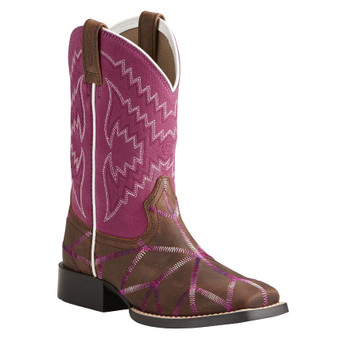 Ariat Girls' Twisted Tycoon Western Boots 10021594