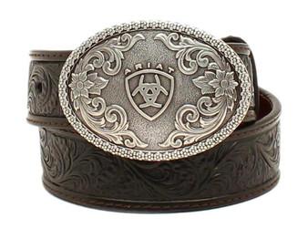 Ariat Boys' Holden Tooled Belt - A1300201