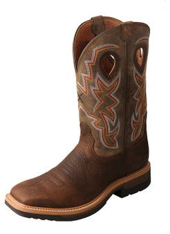 Men's Twisted X Lite Cowboy Work Boot Alloy Toe
