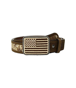 Ariat® Sport Patriot with USA Flag Buckle Belt