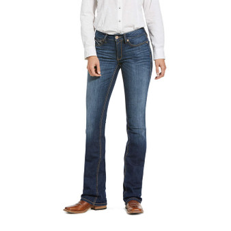 Ariat R.E.A.L. Perfect Rise Stretch Rosa Boot Cut Jean