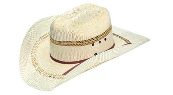 ARIAT MEN'S NATURAL BANGORA STRAW HAT