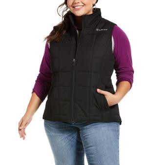 Ariat Ladies Real Crius Vest-Concealed Carry Black