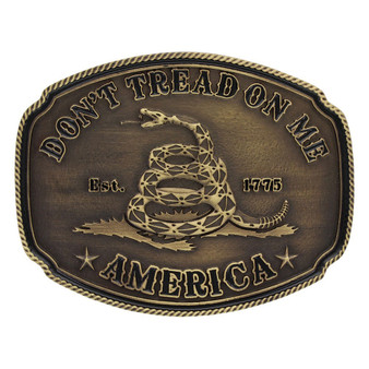 Montana Don't Tread On Me Buckle