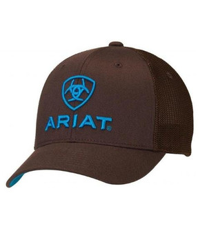 ARIAT® FLEX FIT HALF MESH BACK CAP 1502302