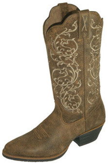 Twisted X Womens Brown Bomber Leather Western Boots