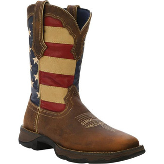Durango Lady Rebel Patriotic Pull On Western Boots