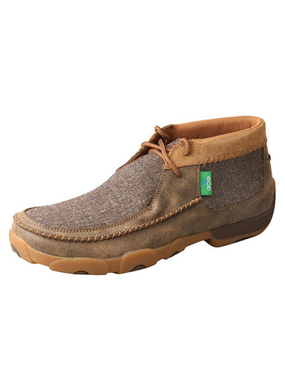 Twisted X Men's Driving Moccasins – Bomber/Dust
