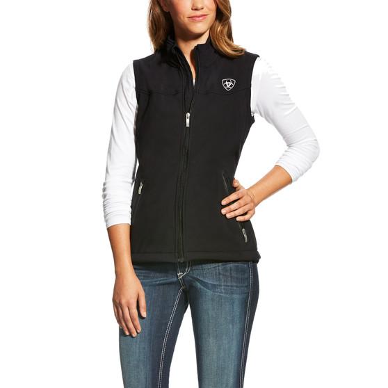 Ariat Ladies New Team Softshell Vest Black