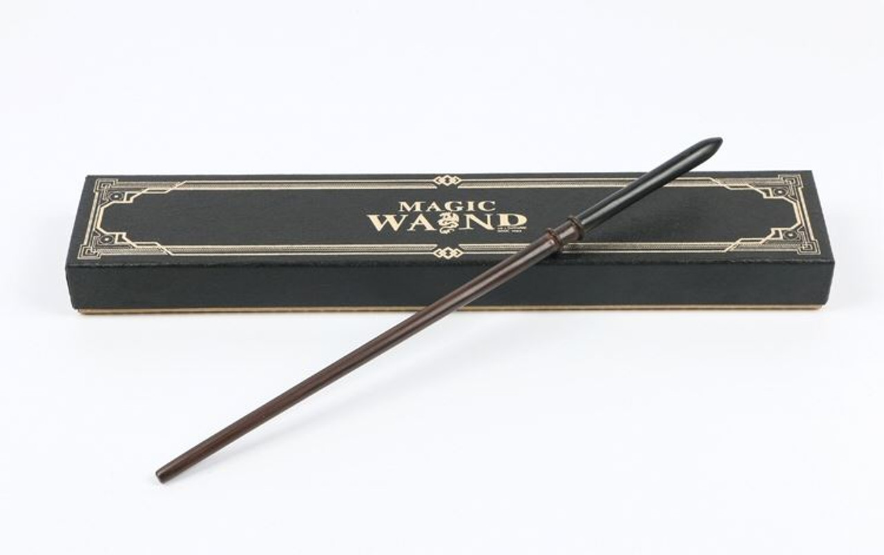 Harry Potter Magic Wand Lucius Malfoy Cosplay Metal Core Snake Gift Box Props