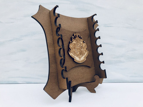 DAU Harry Potter Magic Wand Stand with House Crest