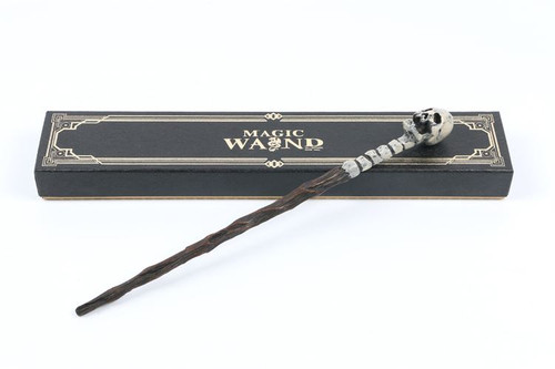 Harry Potter Wand Replica: Death Eater Skull