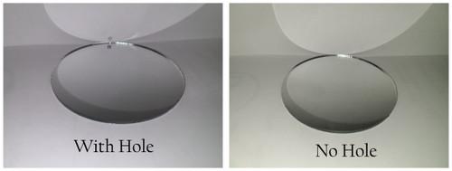 100 Laser Cut SILVER Mirror Acrylic Blank Round Discs.