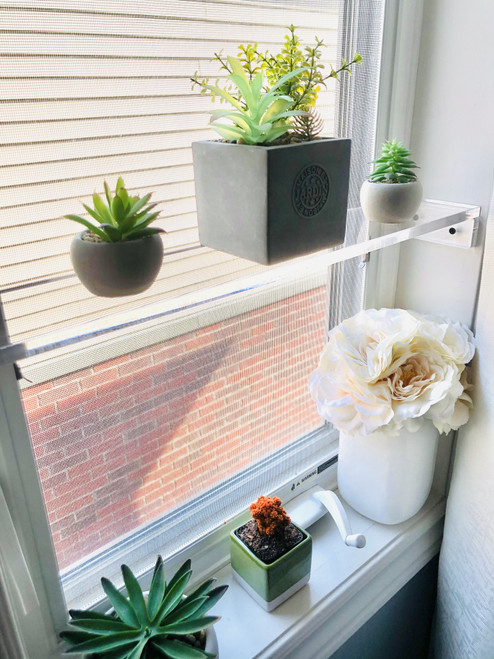 Elegant and Sophisticated Floating Window Shelf (9 Sizes)