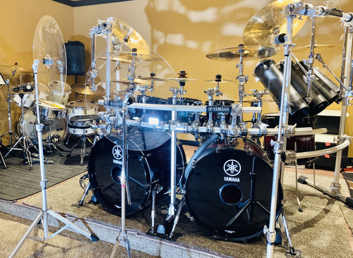 Crystal Clear Acrylic DRUM KIT BAFFLE
