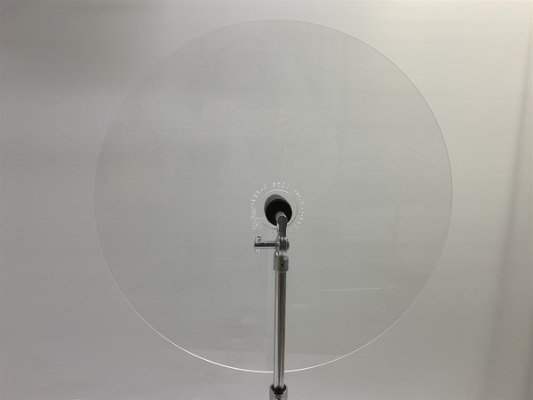 Easy Vibe Acrylic Drum Baffles - Crystal Clear 3mm Thick