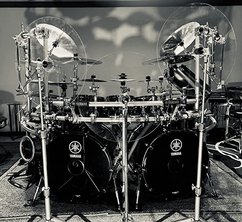 Drum And Cymbal Baffles by Distinct & Unique