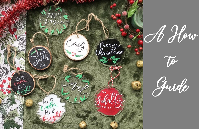 Acrylic Ornaments - A How To Guide
