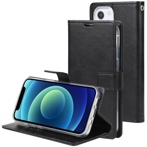 Bluemoon Wallet Case iPhone 13 (Black)