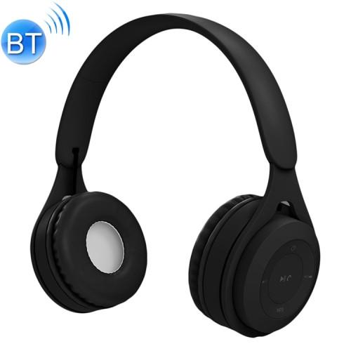 Black Bluetooth/AUX Headset