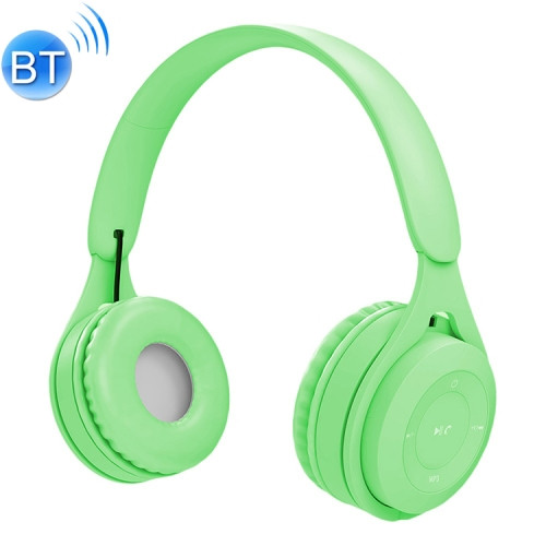 Green Bluetooth/AUX Headset