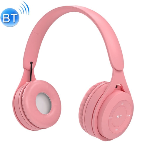 Pink Bluetooth/AUX Headset