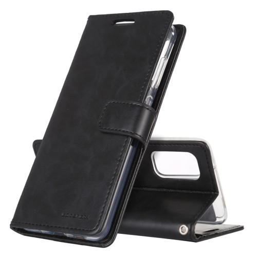 Black Samsung Galaxy Note 20 Ultra Bluemoon Wallet Case
