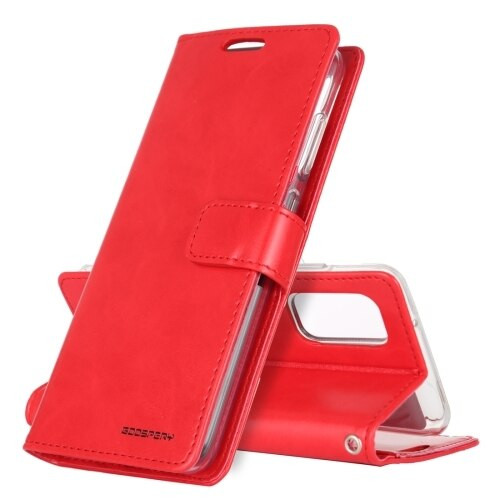 Red Samsung Galaxy Note 20 Bluemoon Wallet Case