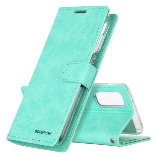 Green Samsung Galaxy Note 20 Bluemoon Wallet Case