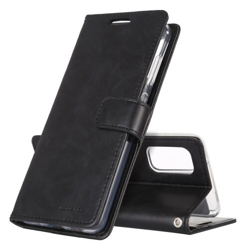 Black Samsung Galaxy Note 20 Bluemoon Wallet Case