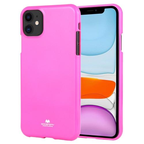 iPhone 11 Goospery iJelly TPU Case (Fluro Pink)