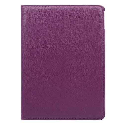 iPad 2 3 4 360 Folio Case (Purple)