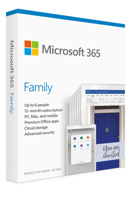 Microsoft 365 Family 6PC