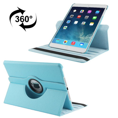 iPad 360 Folio Case (Light Blue)
