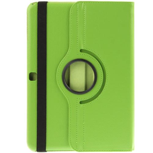 """Samsung Tab 4 10.1"""" T530 360 Folio Case (Green)"""