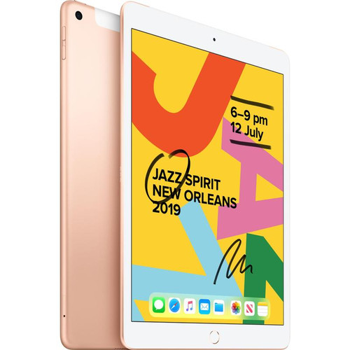 iPad 7th Generation 32GB Wifi (Gold) Bundle Pack