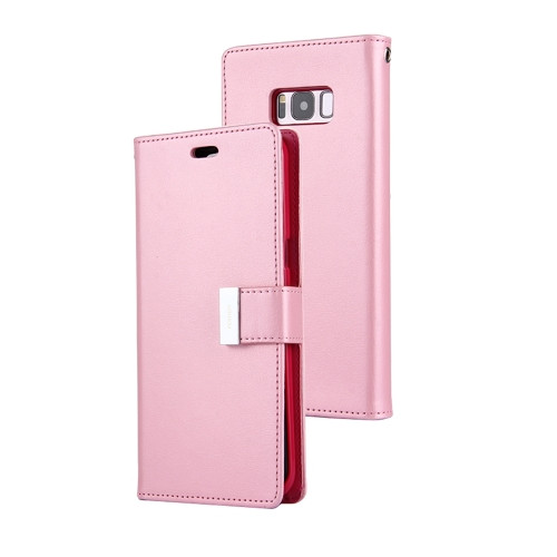 Rich Diary Wallet Case for Samsung Galaxy S8 (Pink)