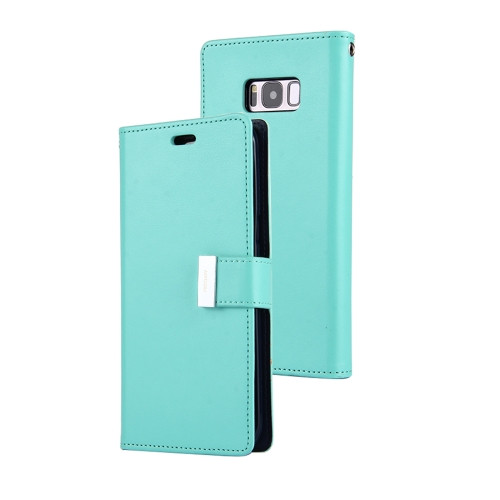 Rich Diary Wallet Case for Samsung Galaxy S8 (Mint & Navy)