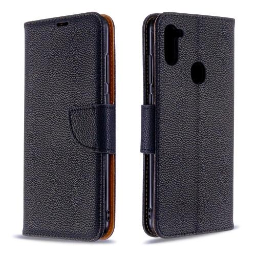Samsung Galaxy A11 Black Wallet Case