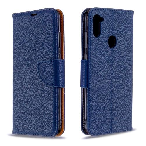 Samsung Galaxy A11 Dark Blue Wallet Case