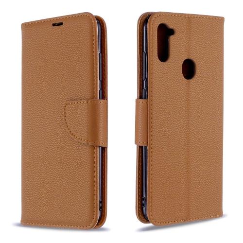 Samsung Galaxy A11 Brown Wallet Case