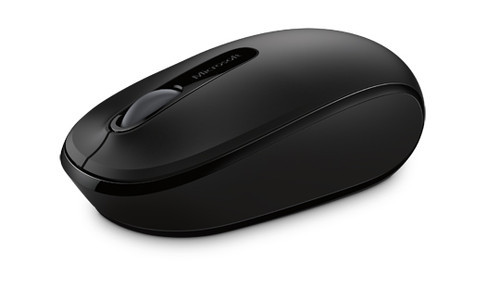 Microsoft Wireless 1850 Computer Mouse (Black)