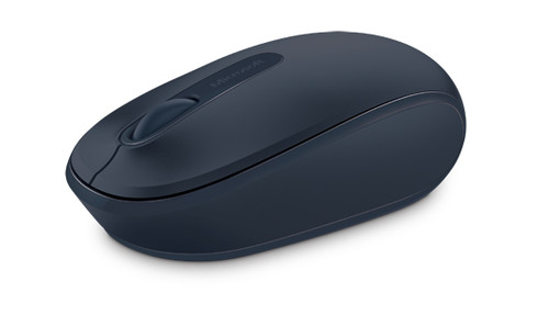 Microsoft Wireless 1850 Computer Mouse (Navy Blue)