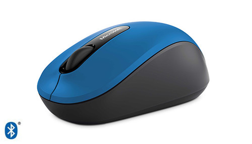Microsoft Bluetooth 3600 Computer Mouse (Blue)
