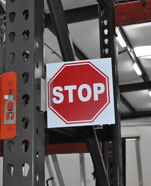 Rack Stop Sign